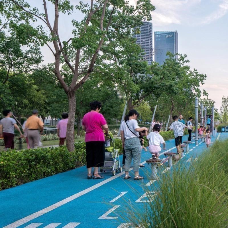 Κάτι όμορφο συμβαίνει στη Σαγκάη: Εγκαταλελειμμένο αεροδρόμιο μετατρέπεται σε καταπράσινο πάρκο αναψυχής