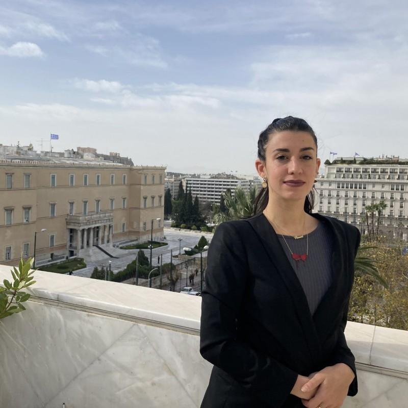 Μαρίνα Μήλιου Θεοχαράκη : Θεωρώ προνόμιο ότι βρίσκομαι στο Ιδρυμα Θεοχαρακη
