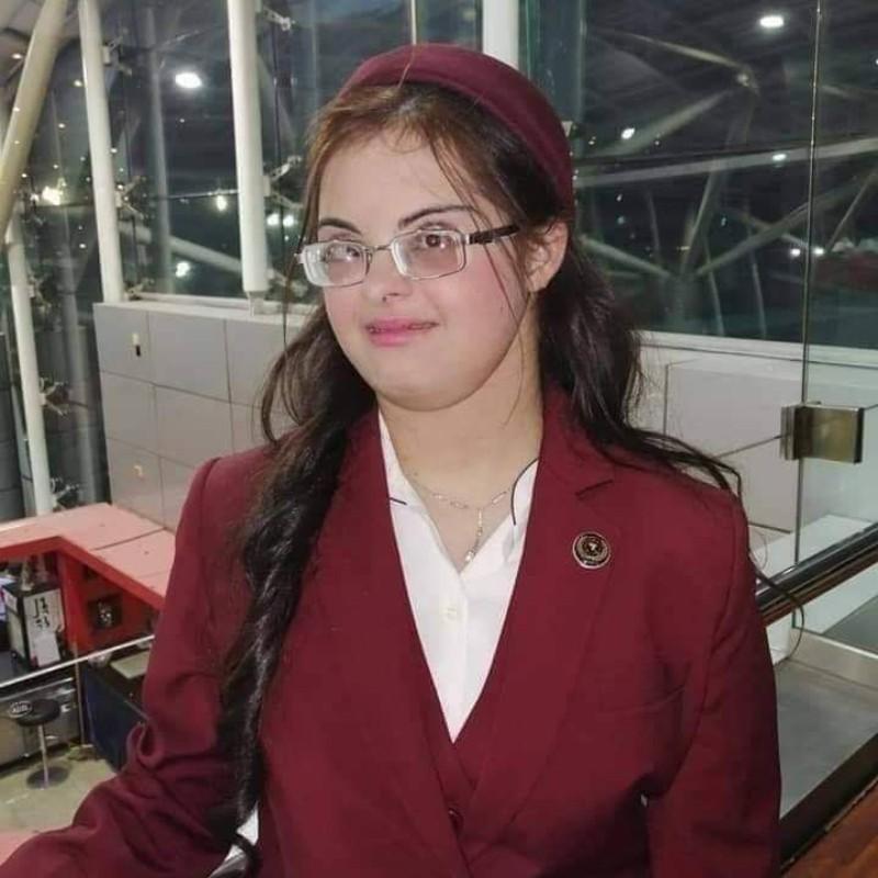 Χέμπα Aτέφ: Η πρώτη Αιγύπτια αεροσυνοδός με σύνδρομο Down