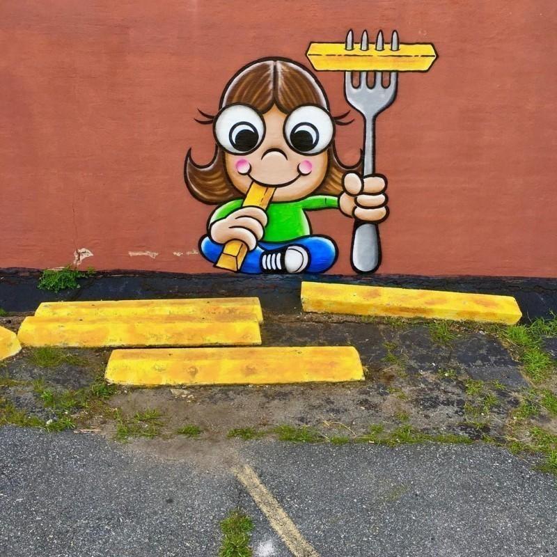 Τομ Μπομπ: Ο μυστηριώδης street καλλιτέχνης που κάνει τις πόλεις λίγο πιο φωτεινές