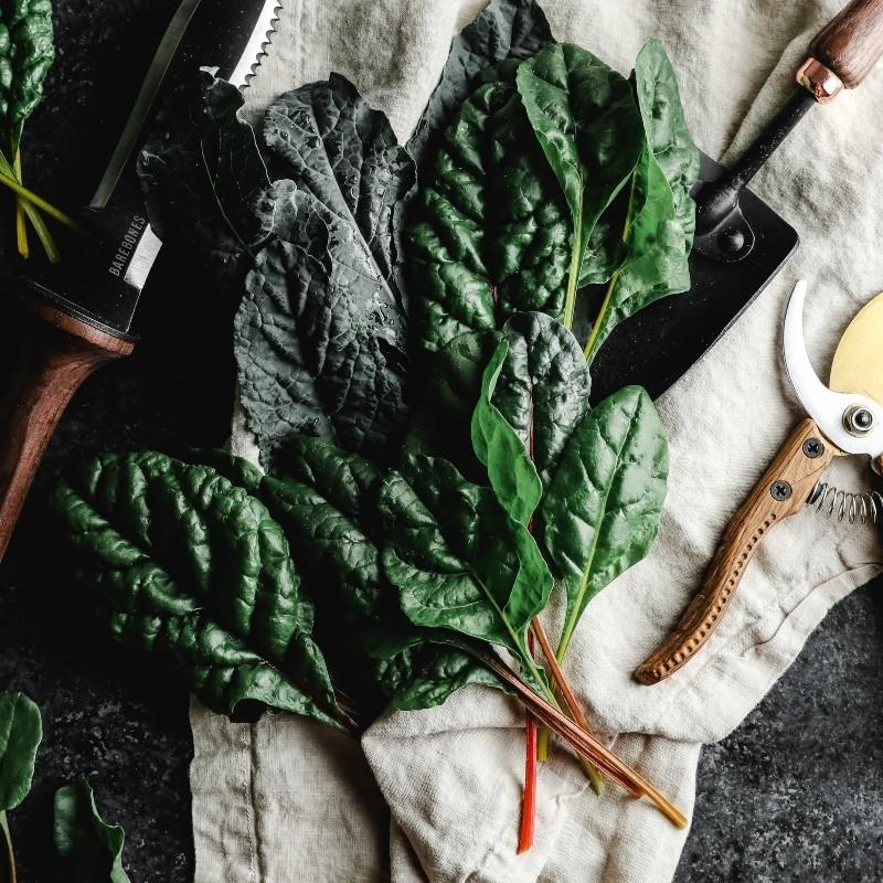 λάχανο-σπανάκι