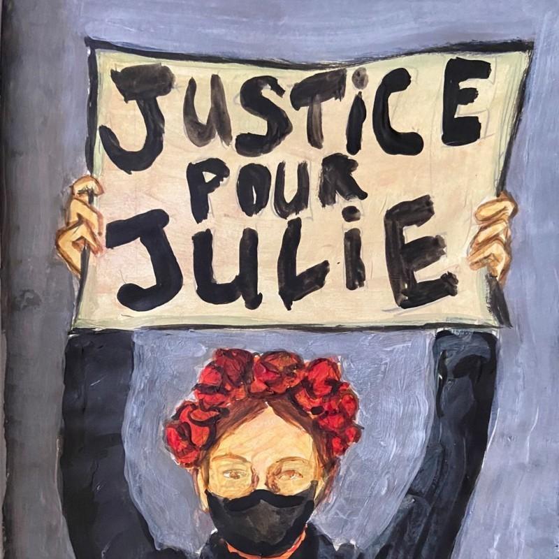 #JusticePourJulie: Πυροσβέστες τη βίαζαν συστηματικά στα 13 της, προσπάθησε να αυτοκτονήσει 16 φορές, τώρα ζητά δικαιοσύνη