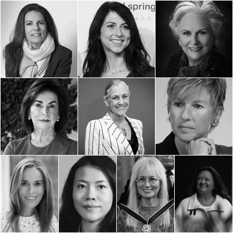 Οι 10 πλουσιότερες γυναίκες στον κόσμο για το 2021