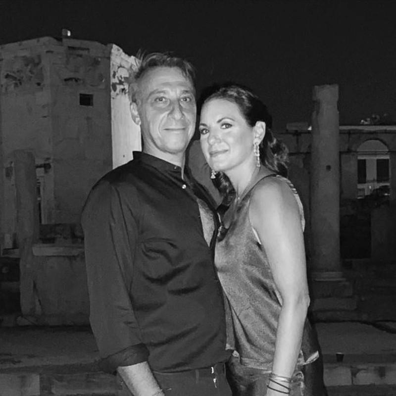 Όλγα Κεφαλογιάννη και Μίνως Μάτσας: «Είσαι εσύ ο άνθρωπός μου…»