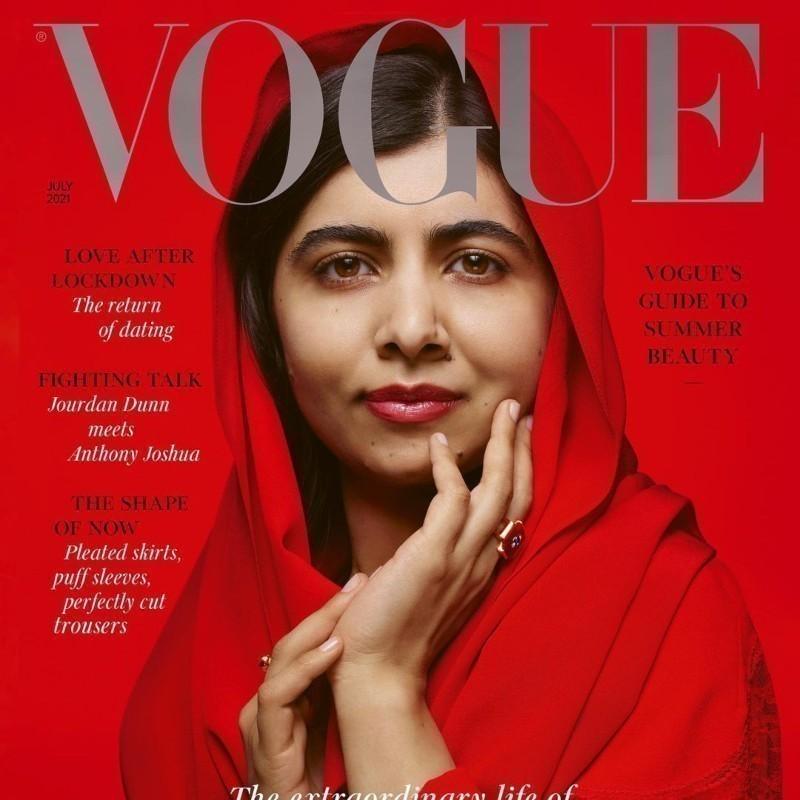 «Επιζώσα, ακτιβίστρια, θρύλος»: H Mαλάλα Γιουσαφζάι στο εξώφυλλο της Vogue