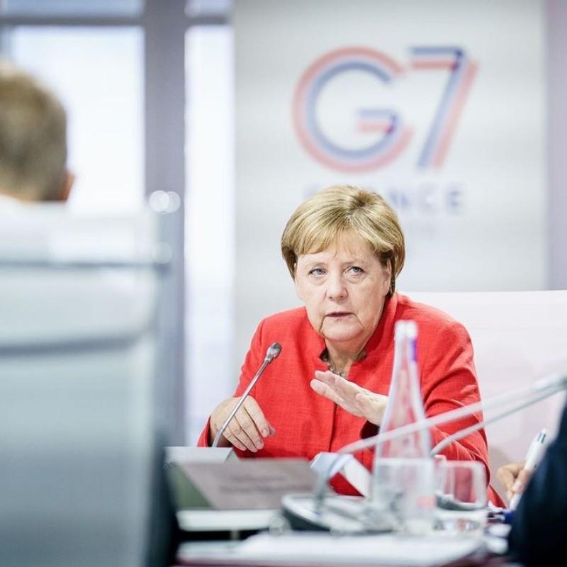 Η τελευταία σύνοδος G-7 για την Μέρκελ, που «μπούχτισε» από την αμερικανική ηγεμονία